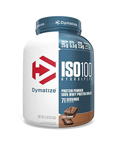 Dymatize Nutrition ISO 100 – 5 Lbs (FUDGE BROWNIE Flavour)