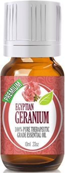 Geranium - 100% Pure, Best Therapeutic Grade Essential Oil - 10ml