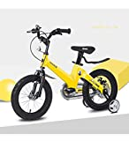 Aon-MX Children's Bicycle for 12''14''16''18 '', 2-12 Years Old Baby Toddler Kids' Bikes Pedal Foot Kids Tricycle Rollers and Brake Counterpedal - Bicycle,14inches