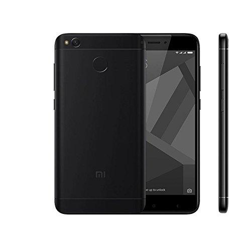 "Xiaomi Redmi 4X 32GB Black, 5"", Dual Sim, 13MP, GSM Unlocked Global Model, No Warranty"