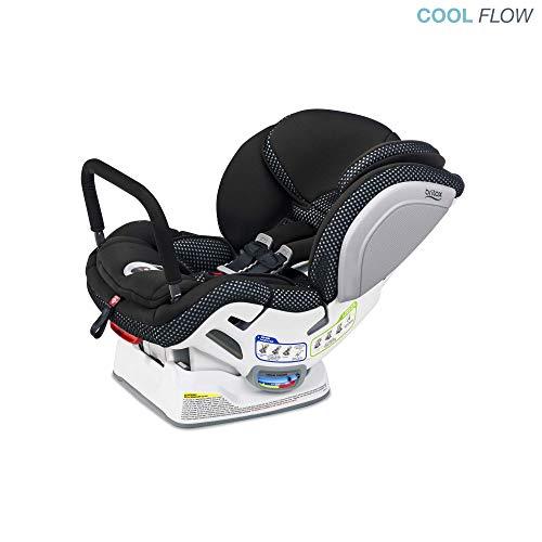 Britax Advocate ClickTight Anti-Rebound Bar Convertible Car Seat, Cool Flow Grey