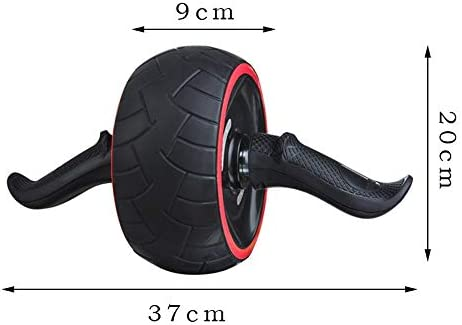 ACEmedia Ab Wheel Roller with Knee Pad Pro Fitness Equipment Ab Workout Machine Abdominal Wheel Exercise Equipment Home Gym Core Training 7