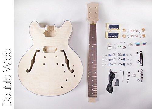 DIY Electric Guitar Kit ? 335 Style Build Your Own Guitar Kit