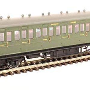 Hornby R4717A SR 58'Maunsell Ex-LSWR Non-Corridor Brake 3rd Coach'2636′, Multi 41rnjXgFwgL