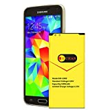 Galaxy S5 Battery, Upgraded Euhan 3200mAh Li-ion Replacement Battery Li-ion for Samsung Galaxy S5 I9600 G900A G900P G900V G900T G900F G900H G900R4 SM-S903VL Galaxy S5 Spare Battery (24 Month Warranty)