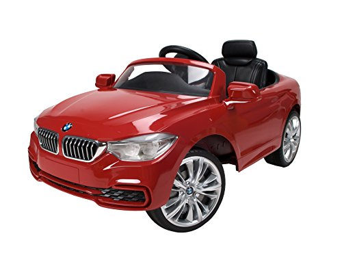 Red BMW 4 Series Convertible Ride On by Huffy