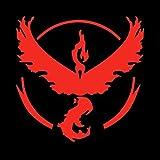 Team Valor (Pokemon GO Inspired) - Red Vinyl Decal