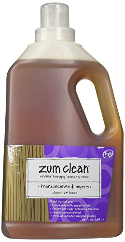 Zum, Laundry Liquid Zum Clean Frankincence Myrrh, 64 Fl Oz