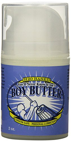 You'll Never Know It Isn't Boy Butter, Personal Lubricant, H20 Based Cream, 9 Ounce