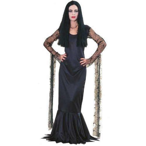 Adams Family Morticia Costume Size: Medium