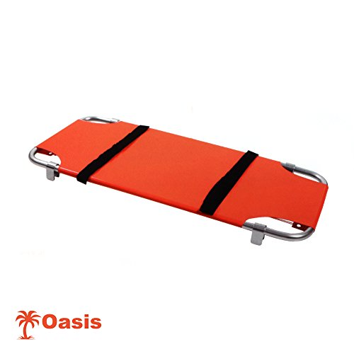 Animal Stretcher, Washable, Durable Material, 20' X 47', Orange, Each