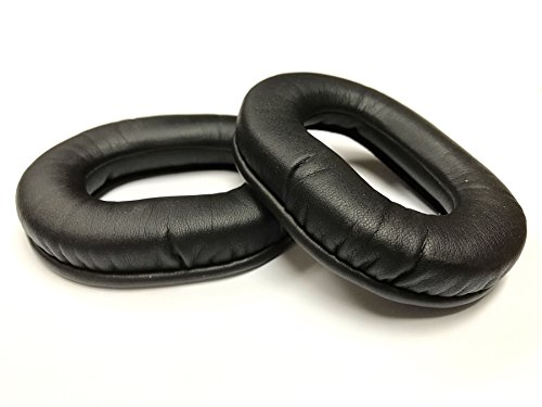 Leatherette Ear Seal with memory foam core for Aviation Headsets