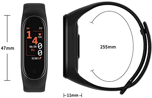 SBA999 ABM403 M4 Bluetooth Wireless Smart Fitness Band for Boys/Men/Kids/Women | Sports Watch Compatible with Xiaomi, Oppo, Vivo Mobile Phone | Heart Rate and BP Monitor, Calories Counter 6