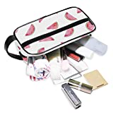 DoubleCW Watermelons Toiletry Bag for Men and Women Travel Organizer for Makeup and Toiletries Case for Cosmetics and Toilet Accessories