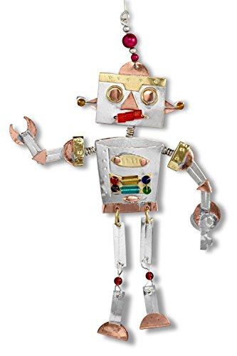 Pilgrim Imports Robby The Robot Fair Trade Ornament