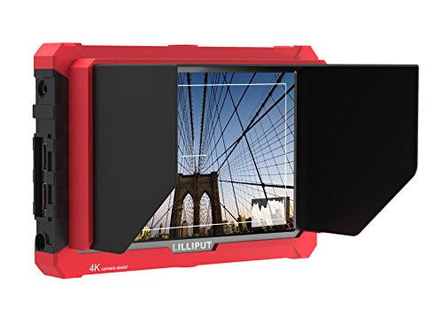 Lilliput A7S 7″ 1920×1200 IPS Screen Camera Field Monitor 4K 1.4 HDMI Input output Video For DSLR Mirrorless Camera SONY A7S II A6500 Panasonic GH5 Canon 5D Mark IV by LILLIPUT OFFICIAL SELLER VIVITEQ