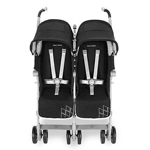 Maclaren Twin Techno Stroller, Black