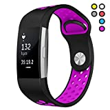 Hanlesi Compatible for Fitbit Charge 2 Bands Man Boy Replacement Accessory Sport Strap Band for Fitbit Charge 2 HR