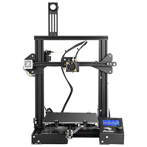 Comgrow Creality Ender-3X 3D Printer Upgraded Version with Tempered Glass and Five Nozzles