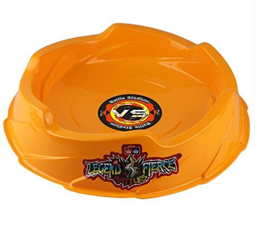 Beystadium Battle Arena Training Ground Super Vortex Attack Type for Beyblade Brust ( Orange )