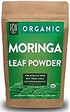 Organic Moringa Oleifera Leaf Powder | Perfect for Smoothies, Drinks, Tea & Recipes | 100% Raw From India | 16oz Resealable Kraft Bag (1 Pound) | by FGO