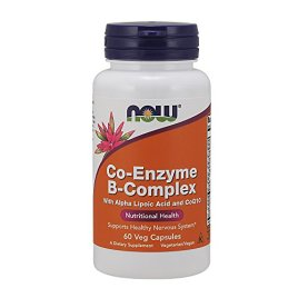 NOW Foods Co-Enzyme B Complex, 60 Count