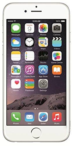 Apple iPhone 6, GSM Unlocked, 16 GB Unlocked, Silver (Renewed)