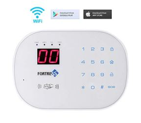Compatible-with-Alexa-App-Controlled-Updated-S03-WiFi-Landline-Security-Alarm-System-Basic-Kit-Wireless-DIY-Home-and-Business-Security-System-by-Fortress-Security-Store-Easy-to-Install