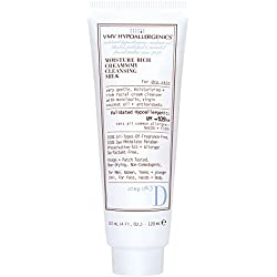 VMV Hypoallergenics Superskin Moisture Rich Creammmy Cleansing Milk for Dry Skin, 4 Fluid Ounce