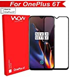 [InStock] Original Premium OnePlus 6T Tempered Glass – WOW Imagine Premium Full Glue 5D Full Edge-to-Edge Screen Protection Tempered Glass For 1+6T One Plus OnePlus 6T [ SPECIAL LIMITED PERIOD INTRODUCTORY PRICE ] [Prime Delivery]