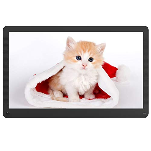 Atatat-Digital-Photo-Frame-173-inch-with-Motion-Sensor-1920x1080-FHD-Screen-Digital-Picture-Frame-Support-1080P-Video-Music-Slideshow-Breakpoint-Play-Adjustable-Brightness-Auto-RotateCalendar