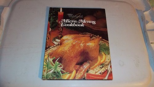 Whirlpool Micro Menus Cookbook by Not Available