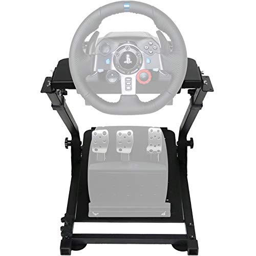VEVOR-G920G29-Racing-Wheel-Stand-fit-for-Logitech-G27G25-Gaming-Wheel-Stand-fit-for-ThrustmasterWheel-Pedals-NOT-Included-Shifter-Mount-NOT-Included