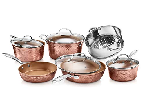 Gotham-Steel-Hammered-10-Piece-Premium-Cookware-Set-with-Triple-Coated-Nonstick-Copper-Set