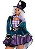Leg Avenue Women's Costume, Multi, 1X / 2X