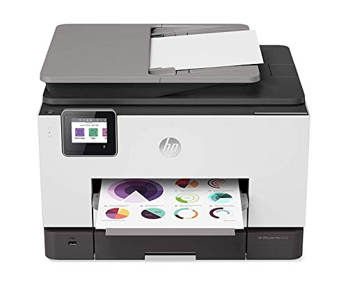 HP OfficeJet Pro 9025 All-in-One Wireless Printer, with Smart Tasks & Advanced Scan Solutions for Smart Office Productivity (1MR66A)