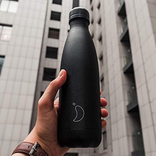 Bottiglie Chilly's | A tenuta stagna, senza perdite | Acciaio inossidabile senza BPA | Bottiglia d'acqua riutilizzabile…