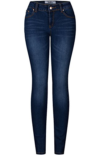 2LUV Women's 5 Pocket Ankle Stretch Skinny Jeans 14 Fashion Online Shop gifts for her gifts for him womens full figure