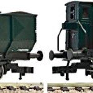 Fleischmann 590112 DR Omp Wagon Set (2) III 41tIZa 4RgL