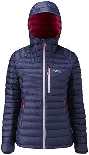 RAB Microlight Alpine Jacket - Women's Twilight/Fuschia 8