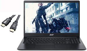 Newest Acer Aspire 1 15.6″ FHD Laptop for Business and Student, Intel Celeron N4020(Up to 2.8 GHz), 4GB RAM, 64GB eMMC, Up to 10-Hours Battery Life, Microsoft 365 Personal, Win10 w/GM 4K HDMI Cable