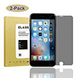 [2Pack] for iPhone 7 Plus/iPhone 8 Plus Privacy Screen Protector,Datoch[Full Coverage][9H Hardness][Bubble Free] Tempered Glass Anti-Spy Screen Protector Shield for iPhone 7Plus/iPhone 8Plus