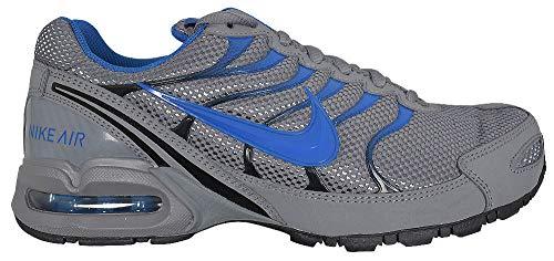 Nike Mens AIR MAX Torch 4, Cool Grey/Military Blue-Black, 11 D(M) US