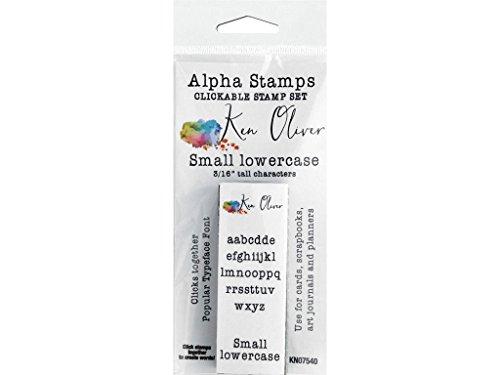 Contact USA KOliver Clickable Stamp Alpha Sm Lower
