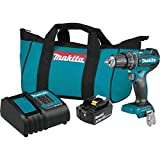 Makita XPH131 18V LXT Lithium-Ion Compact Brushless Cordless 1/2' Hammer Driver-Drill Kit (3.0Ah)