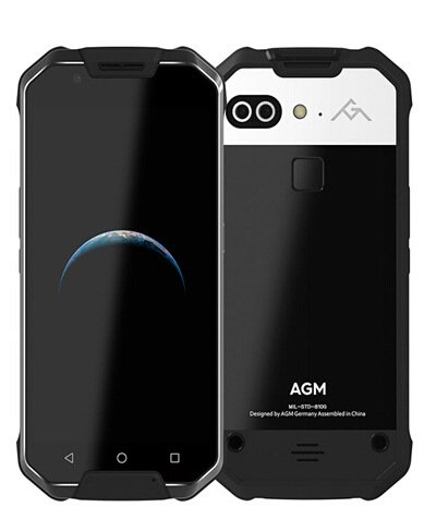 "AGM X2 IP68 Waterproof GPS + GLONASS Dual Navigation System 5.5""FHD 6GB RAM +128GB ROM Qualcomm MSM8976SG Octa Core Dual 12MP Camera 6000mAh NFC"