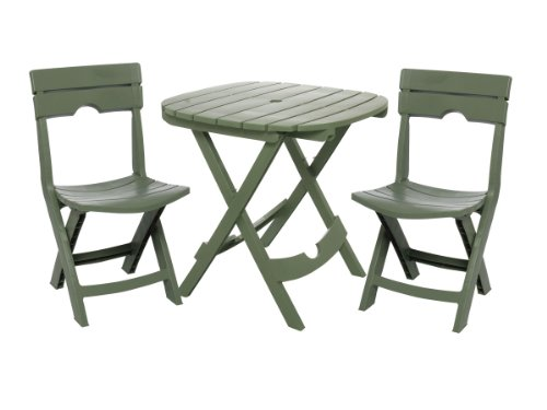 Adams Manufacturing Quik-Fold Cafe Bistro Set Review
