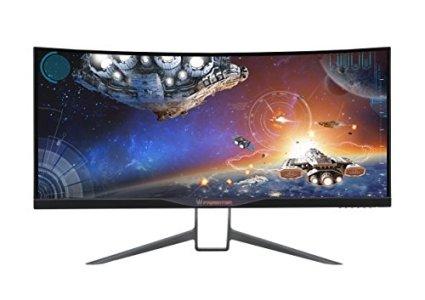 Acer Predator 34-inch Curved UltraWide QHD (3440 x 1440) NVIDIA G-Sync Widescreen Display (X34 bmiphz)