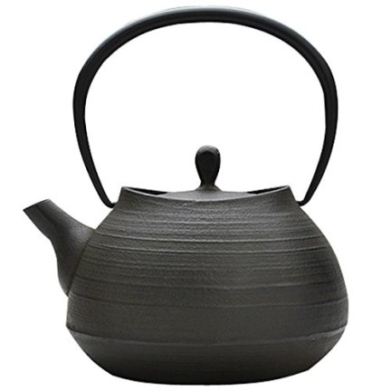 ITCHU-DO HAKEME Japanese Cast Iron tea Kettle Nambu Tetsubin 1000ml