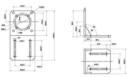 STEPPERONLINE-NEMA-23-Stepper-Motor-Economy-Geared-Stepper-Motor-Alloy-Steel-Mounting-Bracket-ST-M2